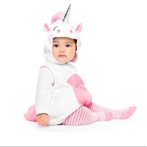 NWT Carter's Baby Unicorn Costume, Size 3-6 months